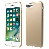 Goldetui iPhone 7 Plus 8 Plus Hardcover Goldenes Etui