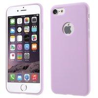 Silikonhülle Lila iPhone 7 8 Einfache lila Hülle Lila Hülle