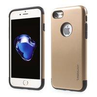 Caseology Goldhülle iPhone 7 8 Goldene TPU Silikonhülle Schwarze Abdeckung