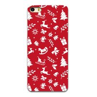 Weihnachtsetui rot iPhone 6 und 6s TPU Weihnachtsetui Red Christmas Cover