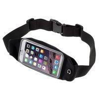 Sportband iPhone 6 6s 7 8 SE 2020 - Laufen - Sport - Hip Band - Schwarz
