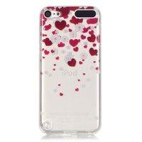 Schutzhülle TPU iPod touch 5 6 7 Herzen transparent