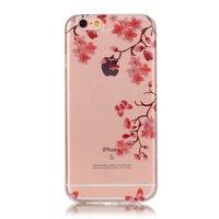 Blossom TPU iPhone 6 6s Hülle Zen Cover - Transparent - Blumenzweige