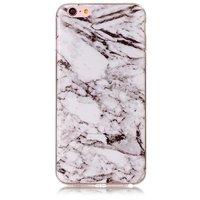 Marmoretui Hülle iPhone 6 Plus 6s Plus Silikon - Marmor - Weiß