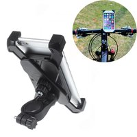 Universal Fahrradhalter iPhone Samsung Handyhalter - verstellbar - Fahrrad - Schwarz