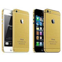 Autoaufkleber Gold iPhone 5 5s SE 2016 Dekor Gold Skin