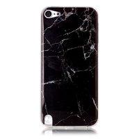 IPod Touch 5 6 7 aus schwarzem Marmor