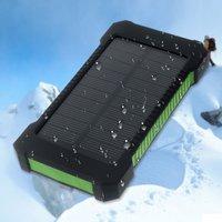 Sun wiederaufladbare tragbare grüne Solar Power Bank Outdoor-Batterie