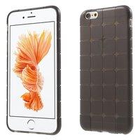 iPhone 6 6s grau karierte Hülle TPU Abdeckung zusätzlichen Schutz