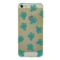 Transparente Kaktus iPhone 5, 5s und SE 2016 TPU Hülle