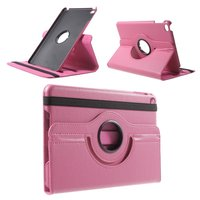 Rosa Leder iPad Mini 4 & iPad Mini 5 (2019) drehbare Hülle