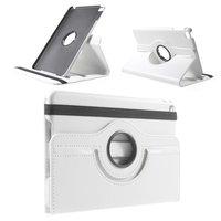 Drehbare Hülle aus weißem Leder iPad mini 4 und iPad mini 5 (2019)