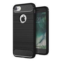 Black Carbon Armor iPhone 7 8 TPU Hülle