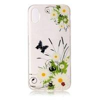 Frühling Gänseblümchen Blumen TPU Fall für iPhone X XS Fall Abdeckung
