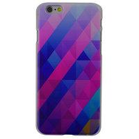 Blaues lila Dreieck iPhone 6 Plus 6s Plus Hardcover
