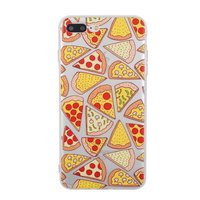 Transparente Pizza Hülle für iPhone 7 Plus 8 Plus Hülle transparent