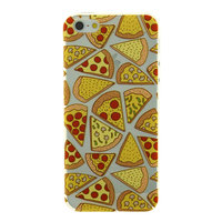 Transparente Pizza Hülle iPhone 5 5s SE 2016 Hülle Abdeckung TPU transparent