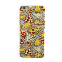 Transparente Pizza Hülle iPhone 6 Plus 6s Plus Hülle Abdeckung TPU Abdeckung