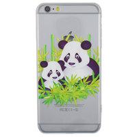 Klare Panda Bambus iPhone 6 Plus 6s Plus Hülle Hülle