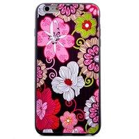 Flower Power Blumen iPhone 6 6s Hülle Hülle Abdeckung