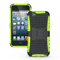Stoßfeste grüne iPod Touch 5 6 Hülle mit 7 Hüllen