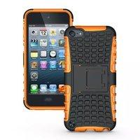Stoßfeste orangefarbene iPod Touch 5 6 Hülle mit 7 Hüllen