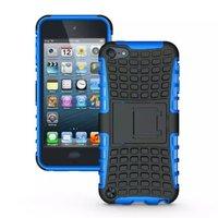 Stoßfeste blaue iPod Touch 5 6 Hülle mit 7 Hüllen