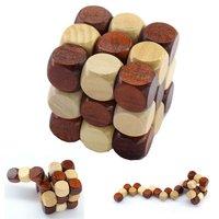 Puzzle Cube Holzwürfel Denkpuzzle