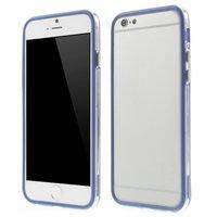Blaue Stoßstangenhülle iPhone 6 6s Hülle