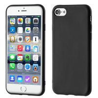 Mattschwarzes Business TPU iPhone 7 8 SE 2020 Hüllenhülle