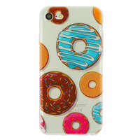 Klare Donut TPU Hülle für iPhone 7 8 SE 2020 Hülle