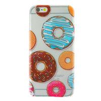 Klare Donut TPU iPhone 6 6s Hülle