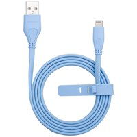 MOMAX MFi Lightning Cable 1 Meter - Blaues Ladekabel