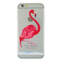 Transparente flamingorosa Abdeckung für iPhone 6 Plus und 6s Plus