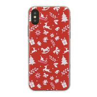 Weihnachtshülle iPhone X XS rote Hülle Weihnachtshülle