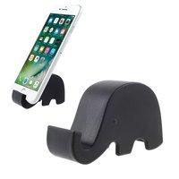 Mobiler Halter Elefant schwarz iPhone Standard Kofferraum Universal