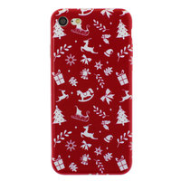 Weihnachtshülle rot iPhone 7 8 SE 2020 TPU Weihnachtshülle Rot Weihnachtshülle
