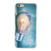 Glühbirne iPhone 6 6s TPU Hülle - Industrielle Glühbirnenhülle