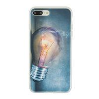 Glühbirne iPhone 7 Plus 8 Plus TPU Hülle - Industrielle Glühbirne Hülle