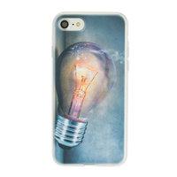 Glühbirne iPhone 7 8 SE 2020 TPU Hülle - Industrielle Glühbirnenhülle
