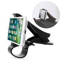 Universal Smartphone Halter Autotelefon Klemmgriff - iPhone Samsung - Schwarz
