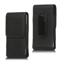 Hosenclip iPod Touch 5 6 und iPhone 5 5s 5c SE 2016 - schwarze Ledertasche