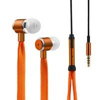 Spitzenohrstöpsel In-Ear-Mikrofon - Orange Metallic