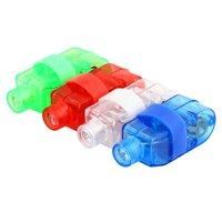 Fingerlicht 4 Farben LED Party - Rot Blau Weiß Grün
