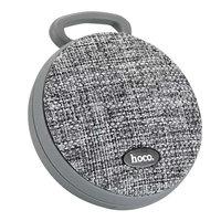 Hoco BS7 Bluetooth Speaker Fabric Grau - Drahtloser Lautsprecher grau
