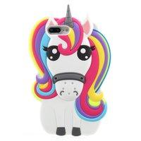 Rainbow Unicorn Silikonhülle iPhone 7 Plus 8 Plus Hülle - Unicorn Rainbow