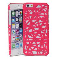 Vogelnest iPhone 6 6s Hartschalenkoffer Vogelnest Design - Pink