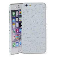 Vogelnest iPhone 6 6s Hartschalenkoffer Vogelnest Design - Weiss