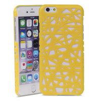 Vogelnest iPhone 6 6s Hartschalenkoffer Vogelnest Design - Gelb