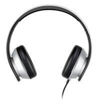 i60 Over-Ear kabelgebundene Stereo-Kopfhörer - Mikrofon Metallic Silber